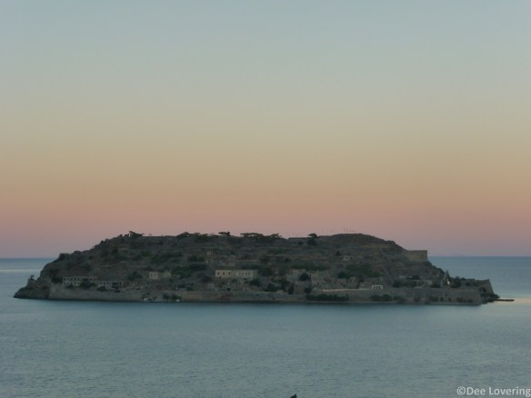 Spinalonga sunset